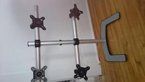 4 monitor support stand