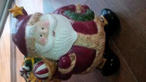 Santa Claus cookie jar