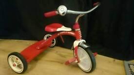 Radio Flyer Tricycle Trike Retro Vintage Cool Xmas present