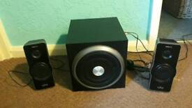 Gravity wave speakers