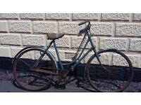 Vintage raleigh bike antique collectable nice shop piece