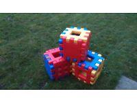 Little Tikes Coloured Waffle Blocks
