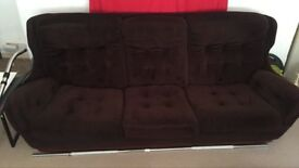 Vintage Habitat Style sofa and 2 chairs must go today