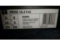 Brand new Messi 16.4 FxG Size 9.