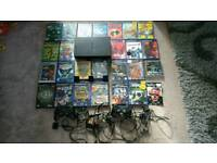PS2 with 2 Controllers, Games and 3 Memory Cards