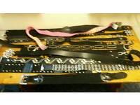Ladies belts job lot