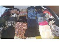 Huge bundle/job lot ladies clothes to fit size 14