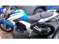 Lexmoto venom 125 sports bike