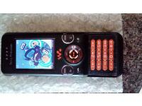 Sony Ericsson W580i Unlocked Camera Slide Phone