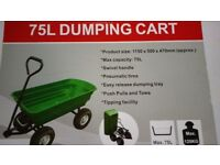 Garden Tipper Cart