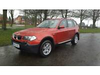 2004 54 BMW X3 2.0D SE 4X4