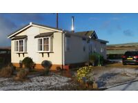 BUNGALOW PARK HOME ARDROSSAN AYRSHIRE ONLY £45,000 ONO with wood burning stove!