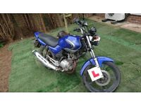 Yamaha ybr 125 with just under 10K on it, cash sale or swap... px to clear!