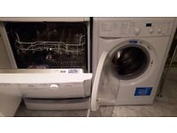 2 Indesit items for sale - 1 Washer/ Dryer AND 1 Dishwasher (£380 for both)