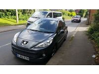 Peugeot 207 (8 months warranty with Robins & Day included)