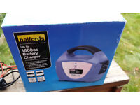 NEW - Halfords Up to 1800cc Car Battery Charger - Reduced to £10