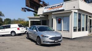 2017 Ford Fusion SE - AWD! LEATHER! NAV! BACK-UP CAM!