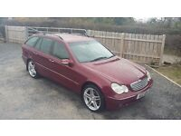 *MERCEDES C320 ELEGANCE AUTO ESTATE* MAY PART EXCHANGE