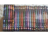Stargate SG2 DVDs, Series 1-8 Box Sets, good condition