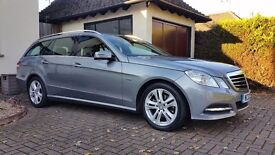 2012 Mercedes Estate E220 CDI SE, A1 CAR, FSH, MOT 06/17, DIESEL, AUTO with paddles, SATNAV.