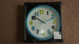 Child's Wall Clock BNIB