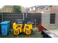 Bomag 75 Vibrating Ride On Roller Double Drum Tarmac