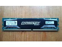 Crucial Ballistix DDR2 ram 2GB 800MHz - tested, works perfectly