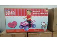Brand new hello kitty electric quaf