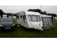 Swift Charisma 535 2011 4 berth rear double bed, giving up caravaning