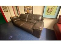 Leather Couch Available.