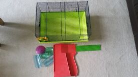 Hamster cage plus bits and pieces