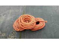 3 lots of boat ropes