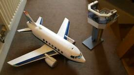 Playmobile Plane and Tower