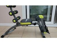 Wonder Core 2 bench with user guide + workout chart + CD. In perfect condition.