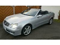 Mercedes Clk 350 Convertible 7 speed Auto Immaculate low mileage fully loaded