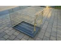 Medium sized dog crate,