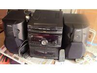 SONY RX70 3CDs Mini Hi-Fi Component System