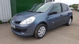 BARGAIN,2006 RENAULT CLIO 1.4 MANUAL ,PETROL,CHEAP INSURANXE GROUP,CHEAP ROAD TAX,NEW SET OF TYRES