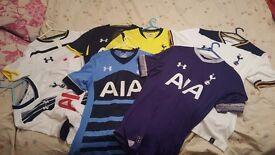 7 Tottenham shirts
