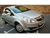 (((Vauxhall Corsa 1.2 i 16v Club 2008 2KEYS FULL SERVICE HISTORY)))