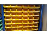 Storage crates, racking, pick and pack units. Plastic boxes of many shapes and sizes!