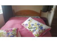 Wooden double bed for sale. £50