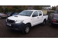 TOYOTA HILUX 2.5 D-4D HL2 Pickup 4WD *BRILLIANT EXAMPLE**IDEAL FOR EXPORT**PERFECT ENGINE & GEARBOX*