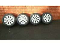 Vauxhall Alloy wheels 16