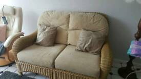 Conservatory sofa/settee excellent condition