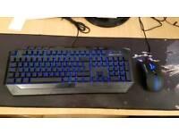 Pc gaming keyboard coolermaster devastator 3