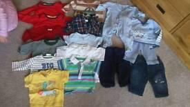 Baby boys 0-3 months bundle