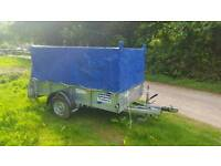 IFOR WILLIAMS GD84 SINGLE AXLE TRAILER 1400KG