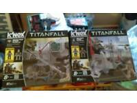 Titanfall knex set New