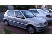 Vw polo going cheap with 12 month mot